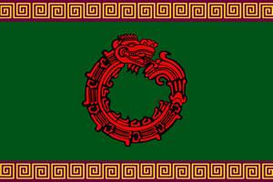 Flag of the Aztec Empire by ArthurDrakoni