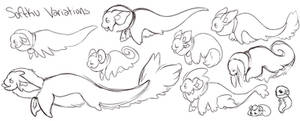 Softku variations [rough concept sketches]