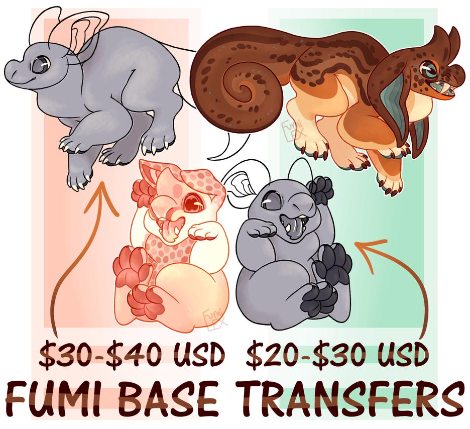 fumi base transfers by fumilex