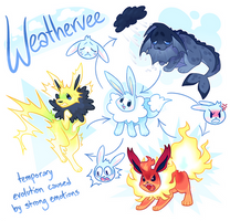 [Pokemon OC Auction] Weathervee CLOSED