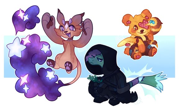 [Potion Sippers] Miscellaneous commissions