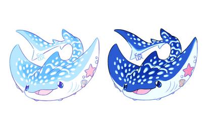 Curious Sharkray