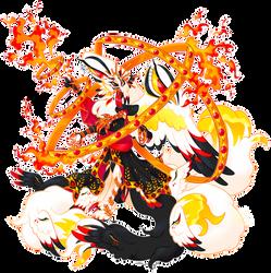 [Potion Sipper custom] Celestial Fire