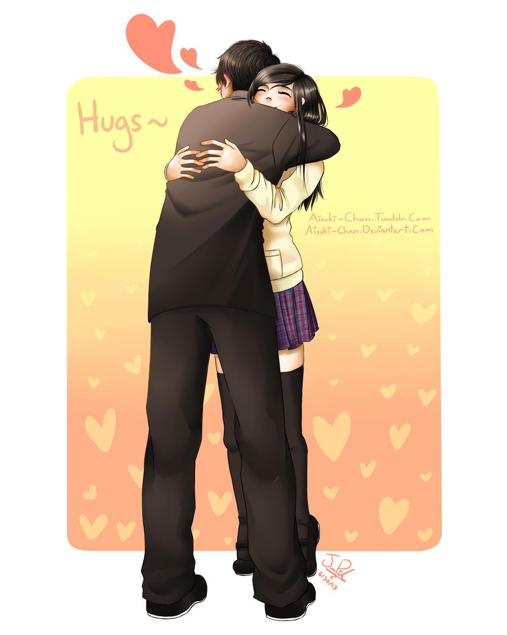 Hugs by Aisuki-Chan