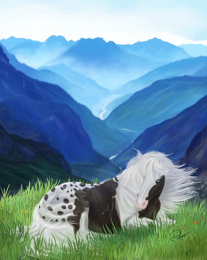 Peaceful Mountains by ArtisanDwarf