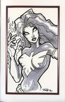 Free Sketch Dark Phoenix by PatrickFinch