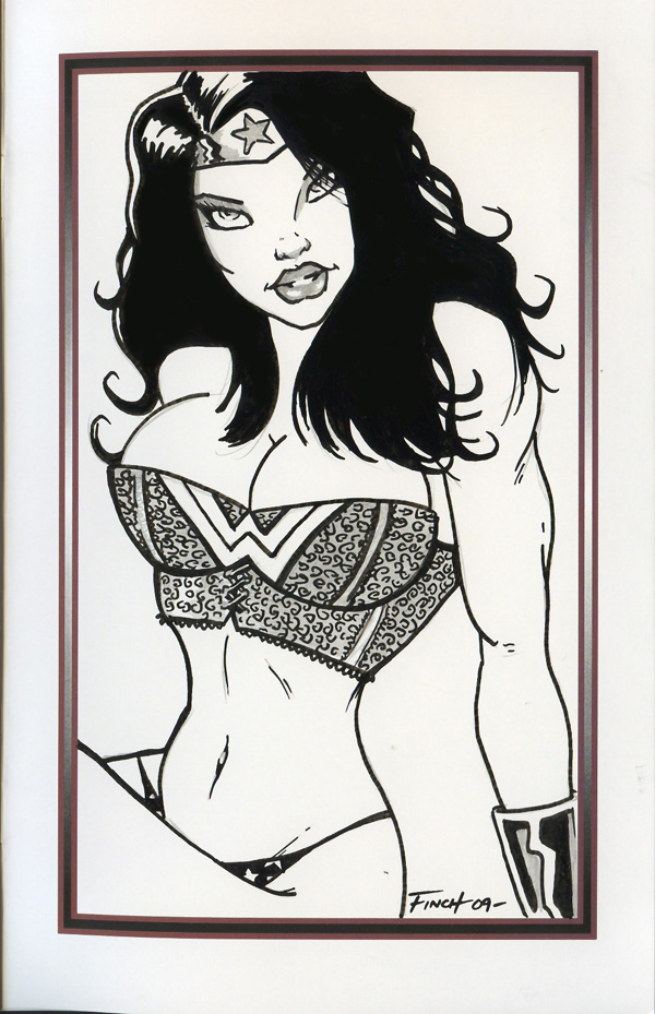 Wonder Woman in Lingerie by PatrickFinch