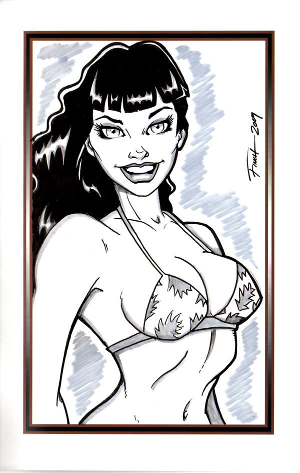 Bettie Page Tribute p2 by PatrickFinch