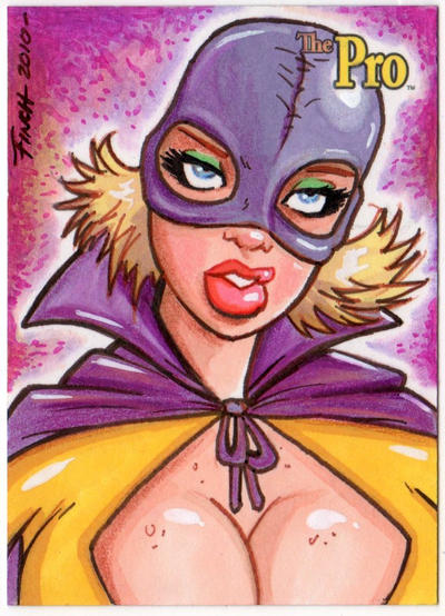 The Pro sketch card by PatrickFinch