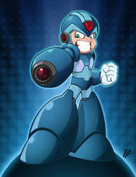 Megaman Tribute by Finch by PatrickFinch