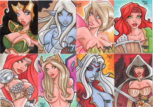 Dungeon Dolls set 3 Finch