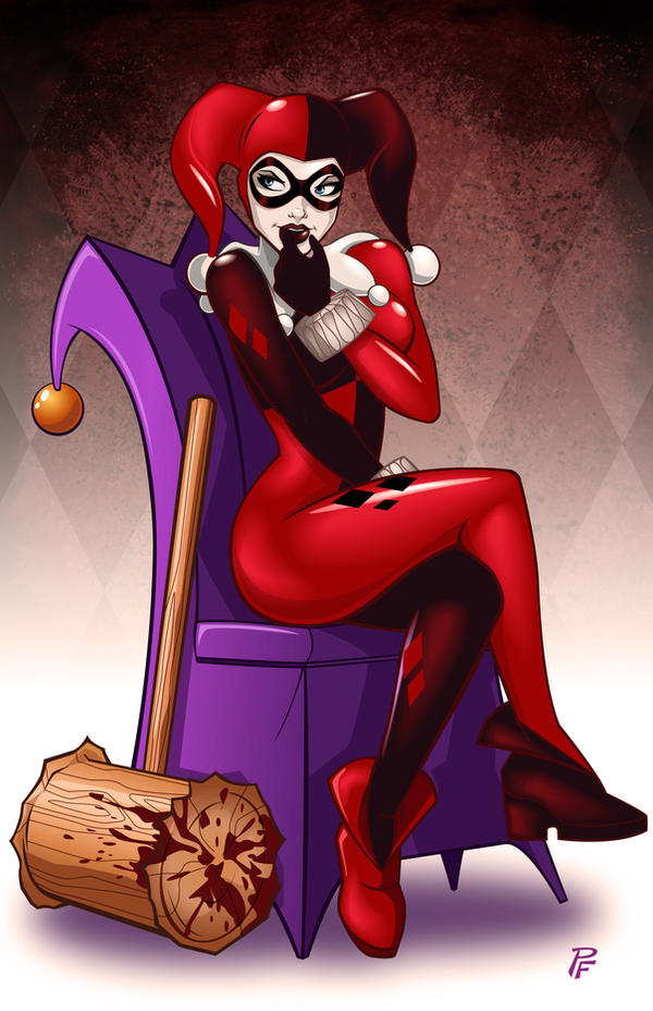 Harley Quinn by PatrickFinch