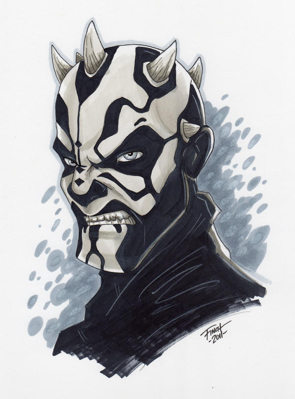 Darth Maul by PatrickFinch