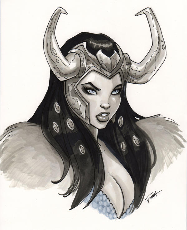 Lady Loki by PatrickFinch