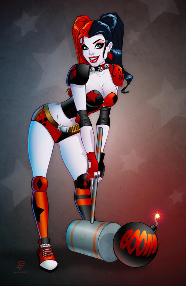 Harley Quinn from the New 52 by PatrickFinch