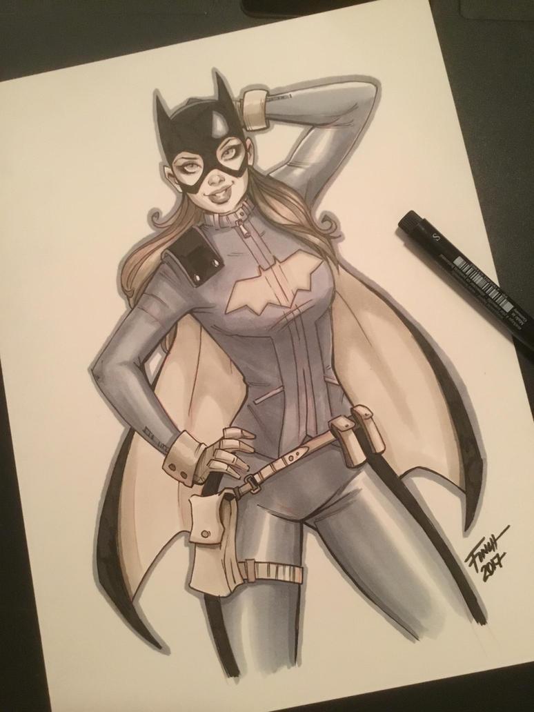 Batgirl by PatrickFinch