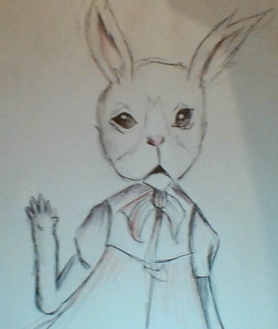a.... rabbit by Llepon