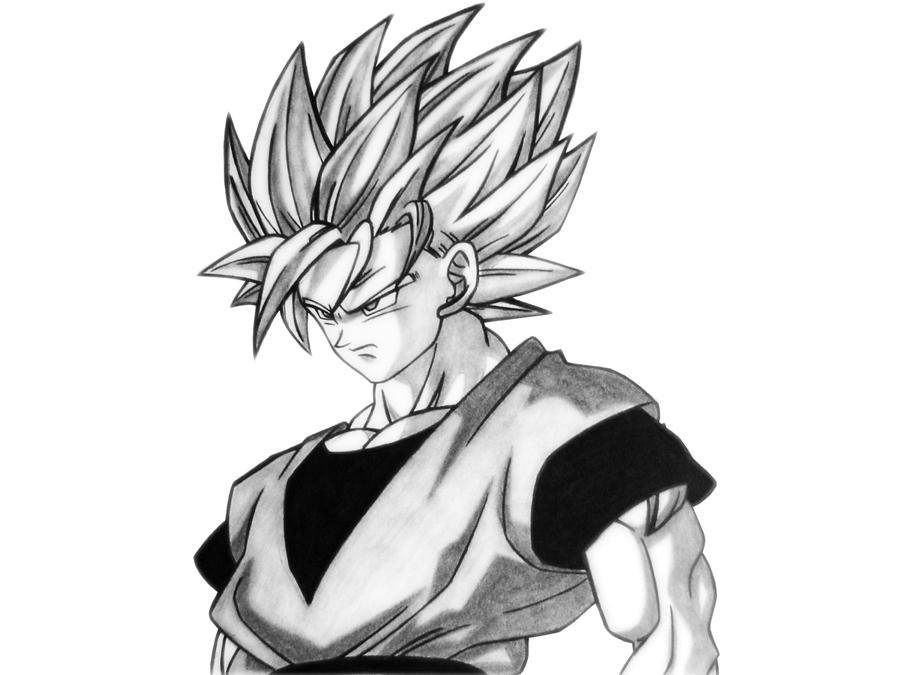 And White Ssj2 Images Black Goku 5