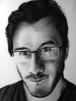 Markiplier Pencil Portrait