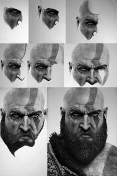 Kratos - God of War WIP