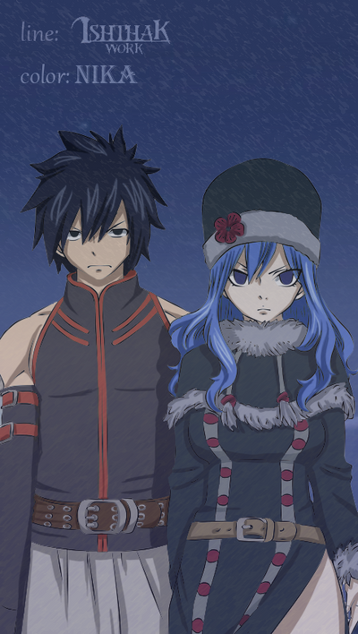Gray Juvia 303 by NikaTail