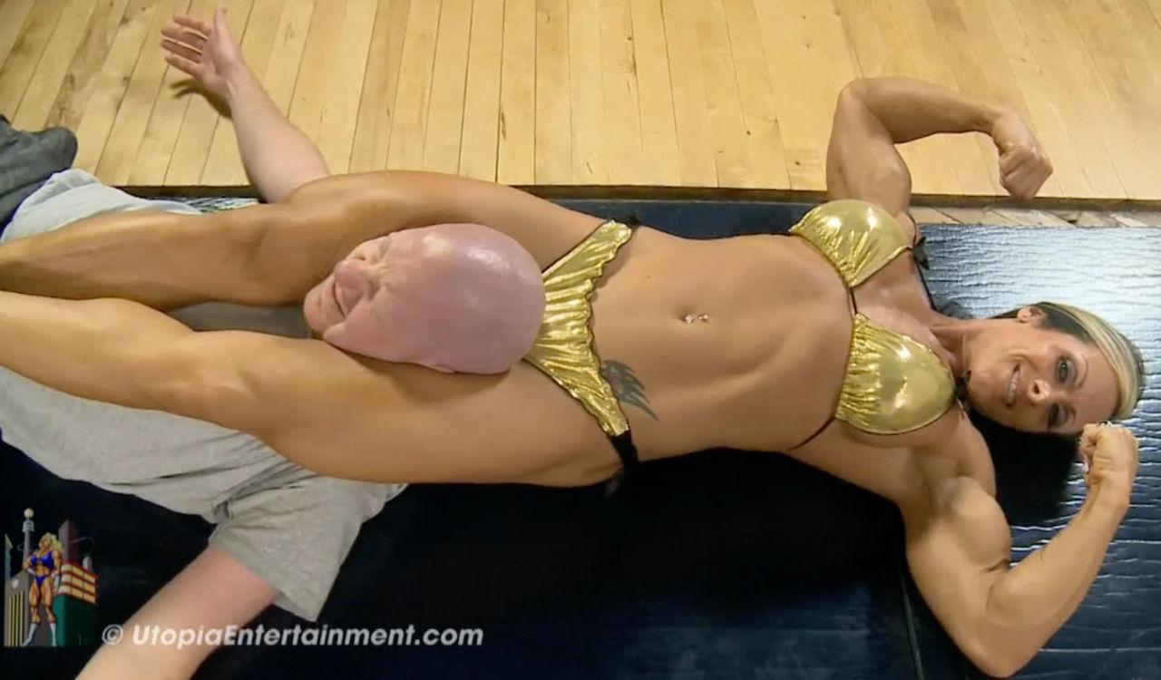 Flexing While Crushing His Skull