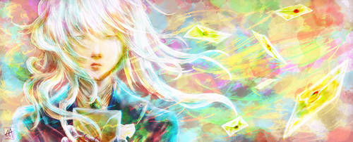 Violet Evergarden by AshnoAlice