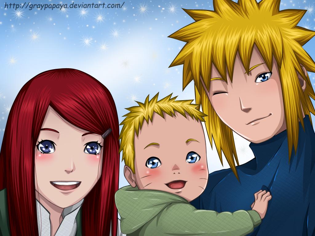 Naruto A Happy Family By Graypapaya On Deviantart