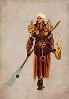 Diablo 3 monk. - incomplete by AdamGarib