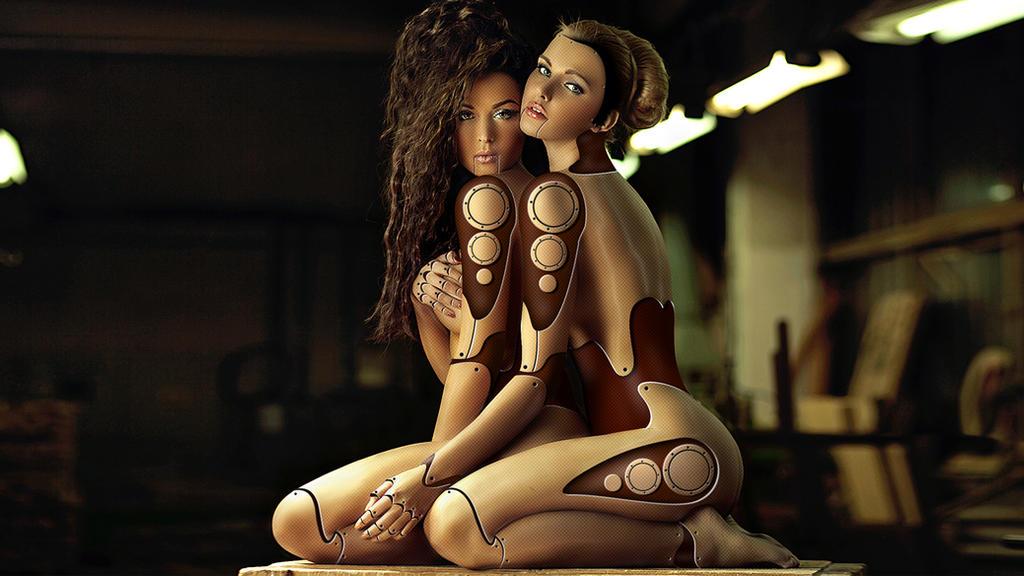 lesbian robots