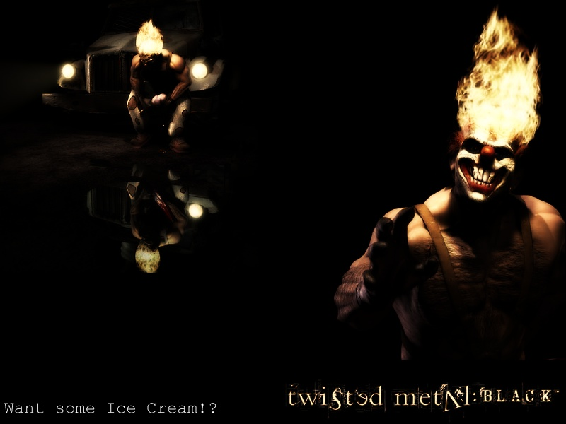 Tmb sweet tooth banner by redpyramidhead on deviantart - Sweet tooth wallpaper twisted metal ...