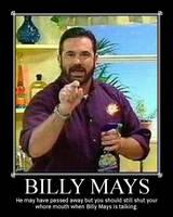 Billy Mays motive by Redpyramidhead