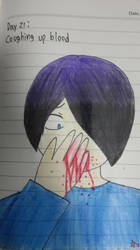 Goretober Day21 : Coughing up blood by Willize