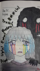 Goretober Day31 : Crying by Willize