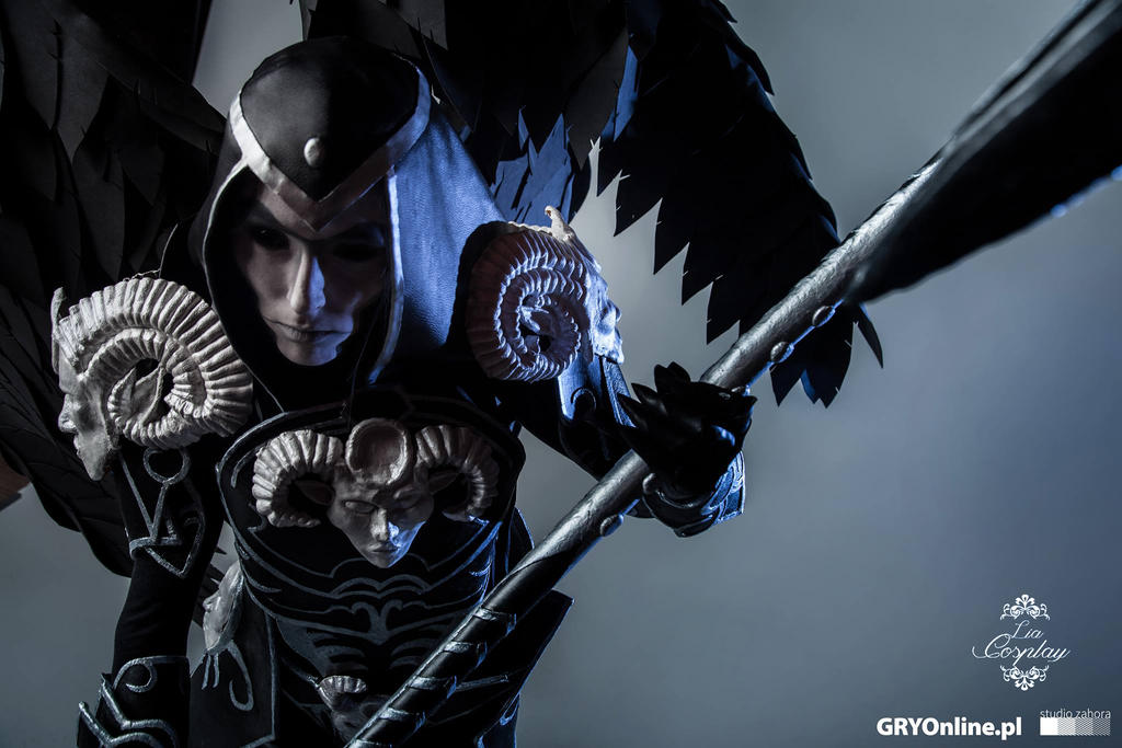 Thanatos cosplay by LiaCosplay