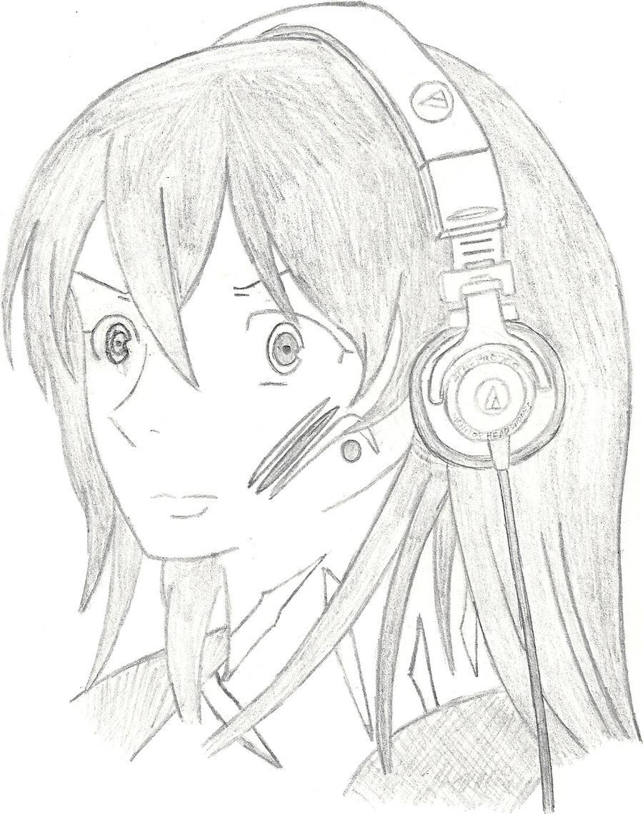Headphone Girl by ImpetusVentiXIII