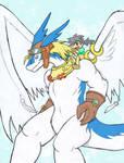 Shiron and Shuu Colored