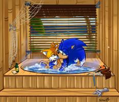 Boomin' in the Tub