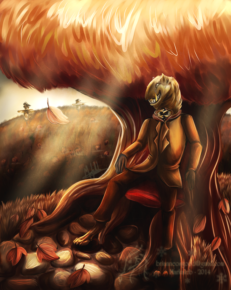 Fantasy Exchange October '14 by dragonmarkaleb