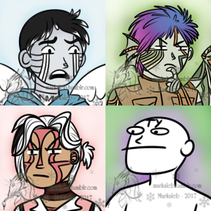 Icon Commissions by dragonmarkaleb