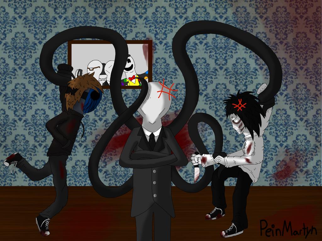 Eyeless Jack VS Jeff The Killer by PeinMartyn on DeviantArt