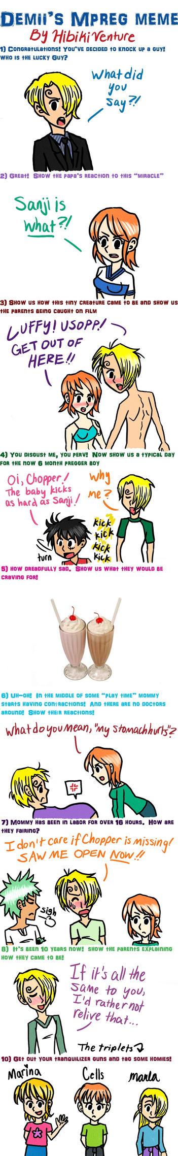 One Piece Mpreg Meme by HibikiVenture