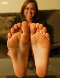Riley Reids TicklishSoles by JWTies