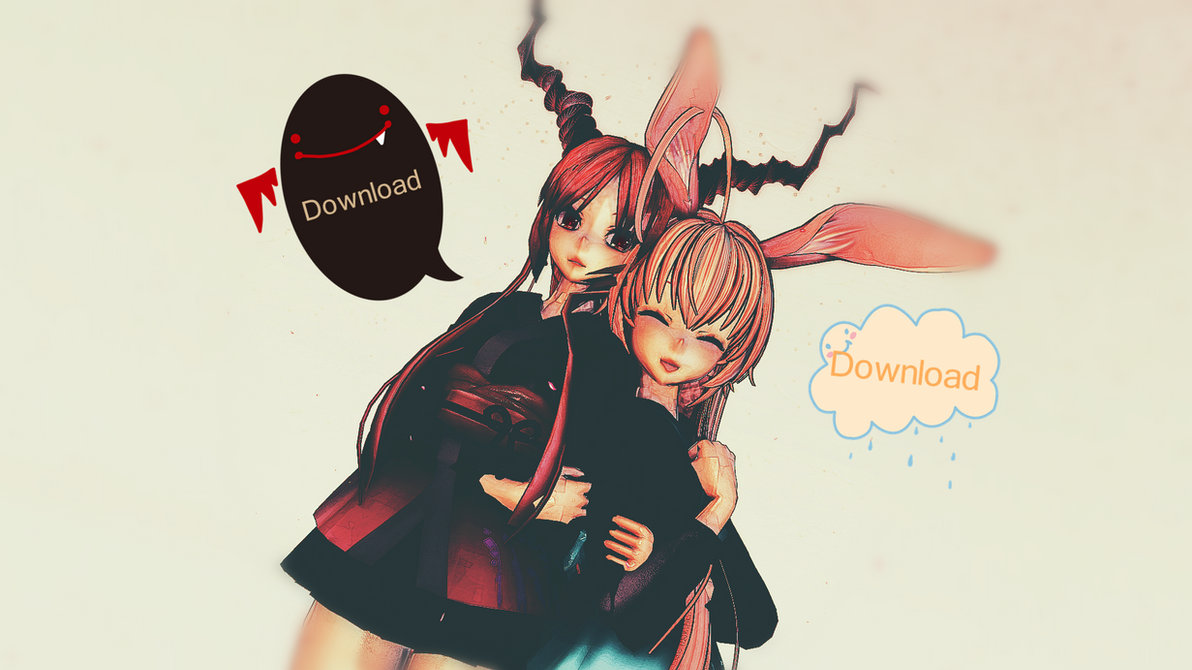 MMD:Omka And Bunbun To DL!!! by MaikelKing