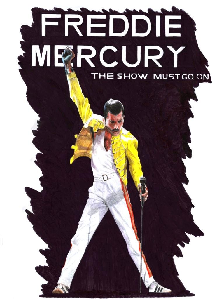 (commission)-Freddie Mercury by barbaramj on DeviantArt