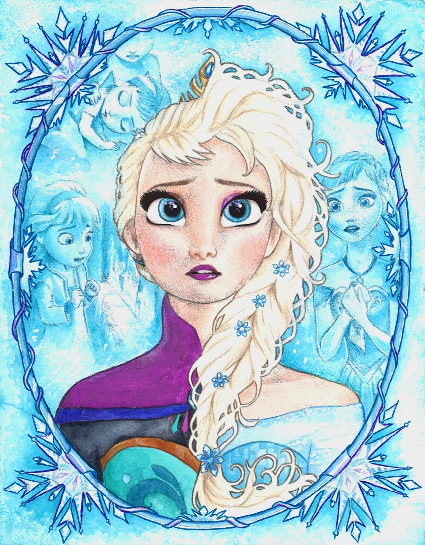 Frozen, Elsa by barbaramj