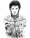 Princess Leia of Alderaan (Ink)