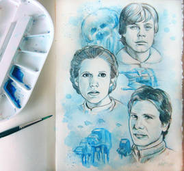 ESB sketchbook page