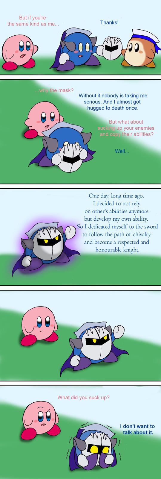 Meta Knight And Kirby Comics Kirby vs Meta Knight p...