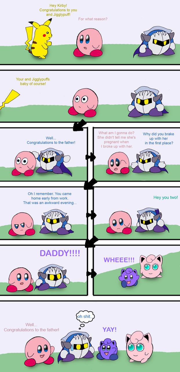 Kirby and Jigglypuff part 2 by Rainbow-BoaJigglypuff And Meta Knight